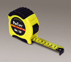 "1"" x 26', 8m Tape Measure"
